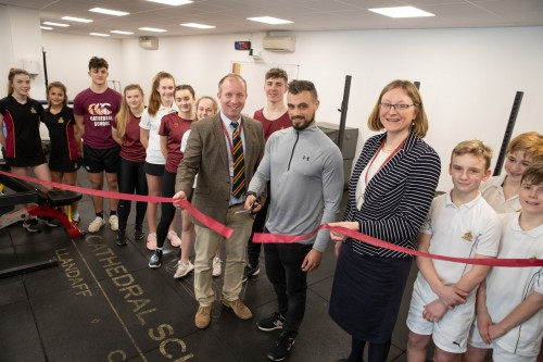 Opening of the Athletic Development Centre