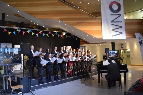 Choral Scholars perform at the DofE Talent Showcase