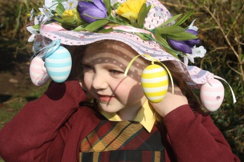 Infant Easter Bonnet Parade