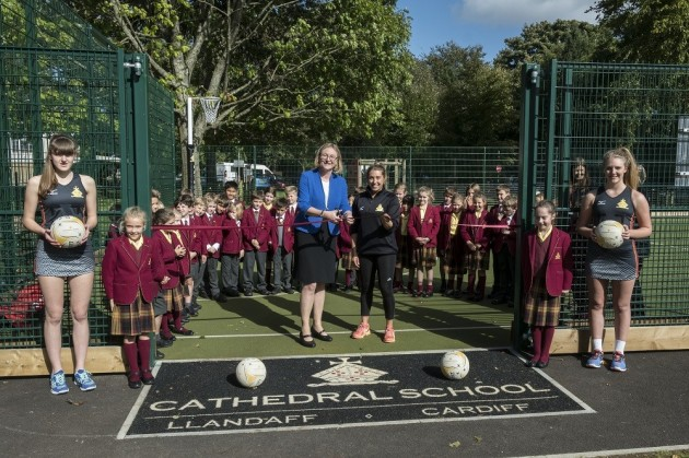 Official opening of the Multi-Use Games Court
