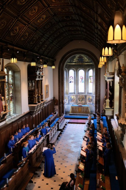 Girl Choristers visit Cambridge