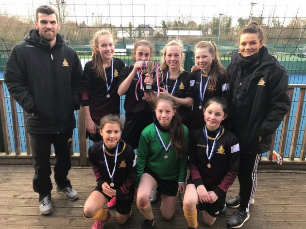 CSL girls' football team victorious in first ever tournament