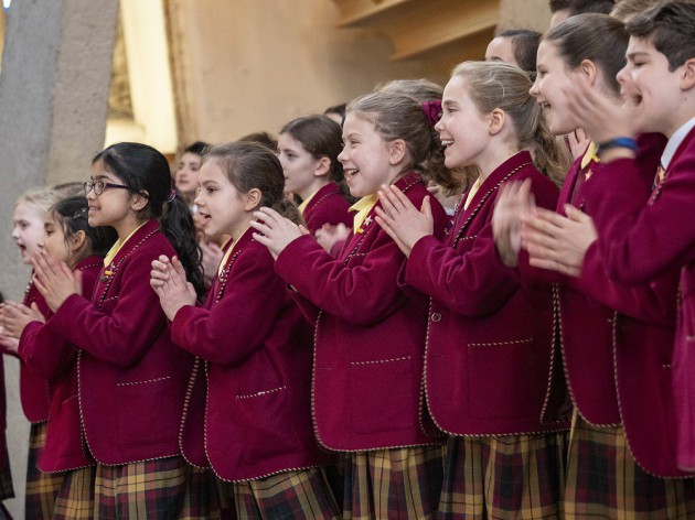 Primary Choirs wow Cathedral audience