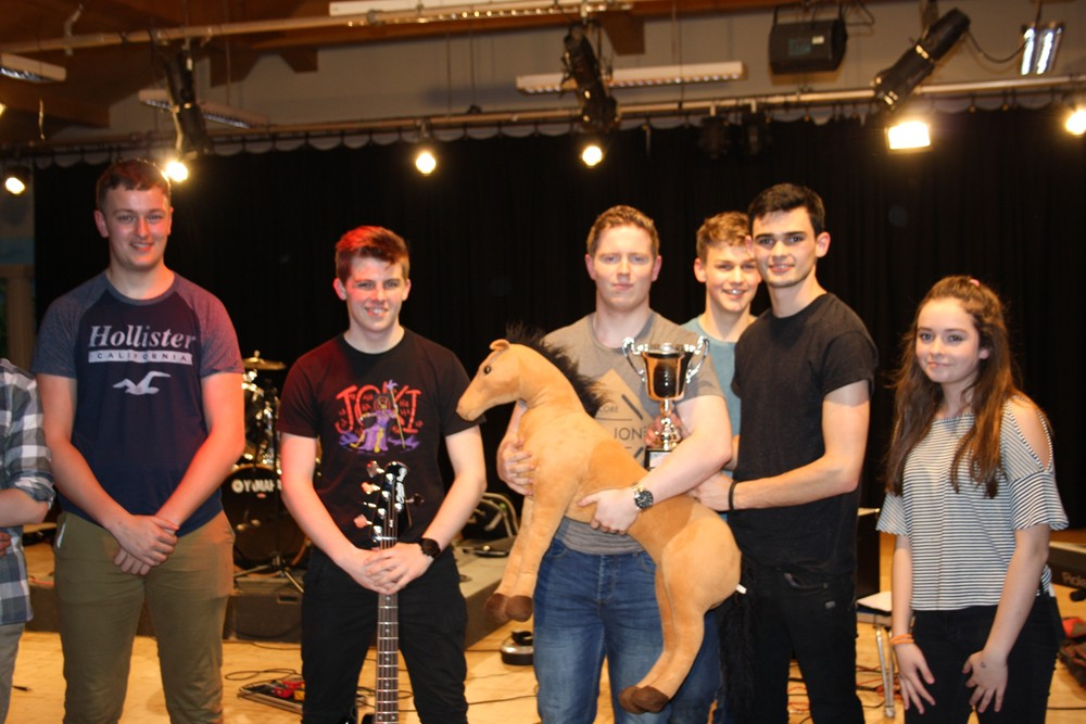 Teilo win Battle of the Bands